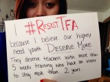 #ResistTFA Twitter Chat and Photo Campaign!